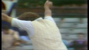 Bob Willis takes his eighth wicket in famous Headingley Ashes win