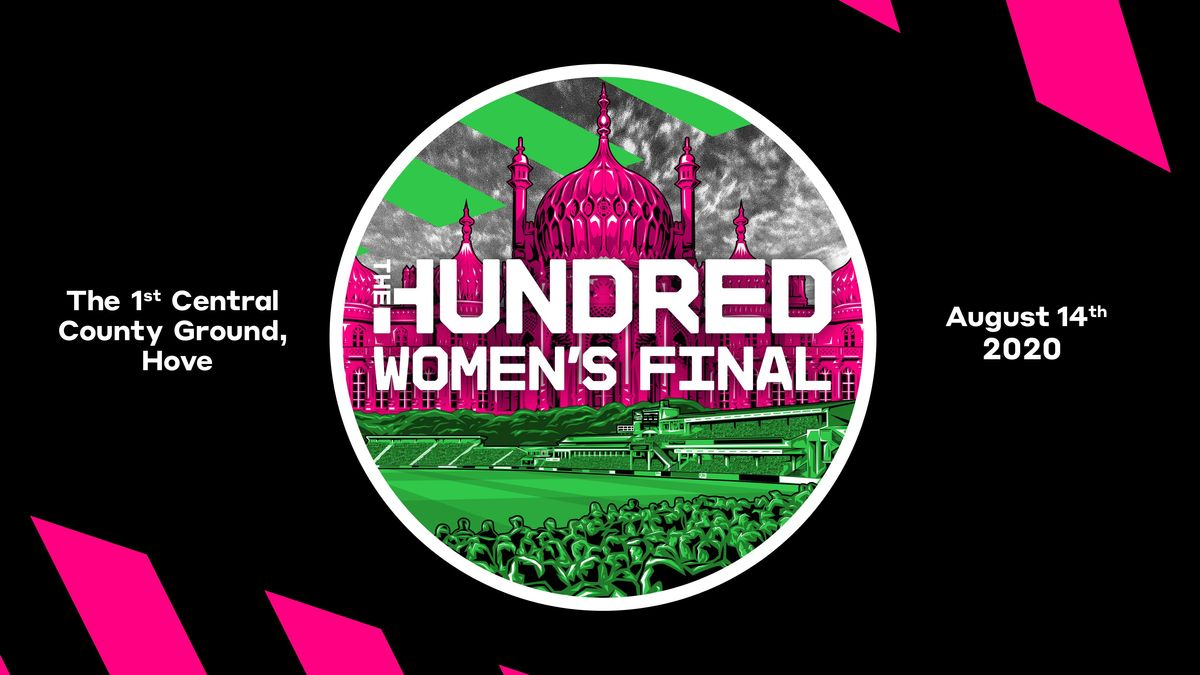 The women's finals of The Hundred will take place at The 1st Central County Ground, Hove