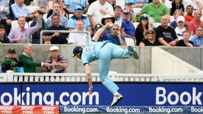 Watch - Ben Stokes takes an absolute wonder catch in ICC Men's Cricket World Cup opener