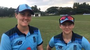 Nat Sciver and Fran Wilson react to England's win in the 2nd ODI