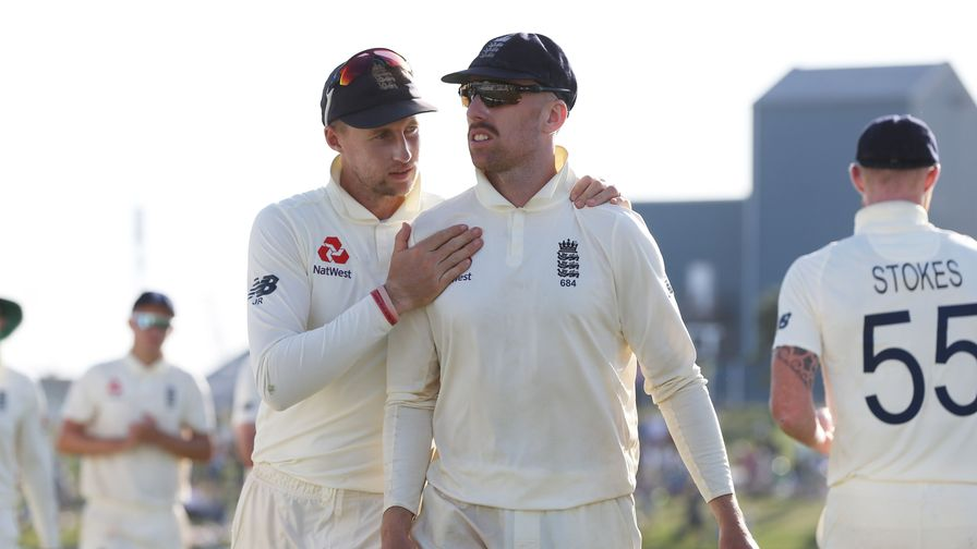 Jack Leach to return home from South Africa