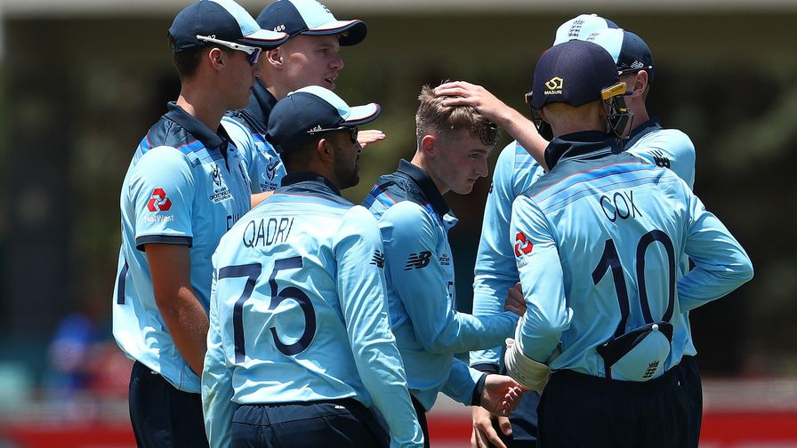 England U19s beaten by the West Indies