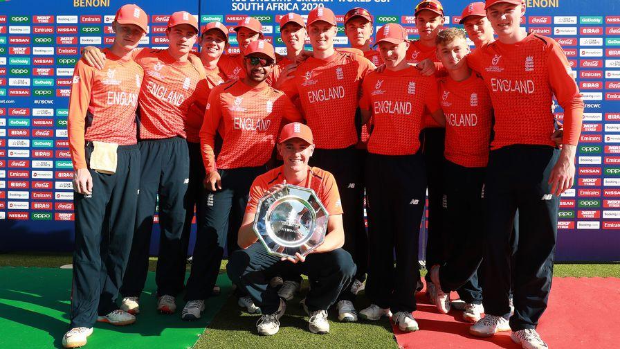 England win ICC U19 Cricket World Cup Plate