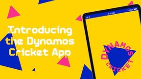 Introducing the Dynamos Cricket app!