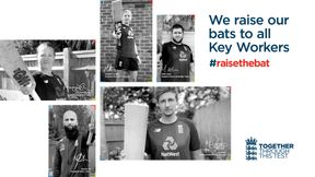 Raise The Bat for cricket's key workers