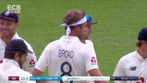 Shai Hope Wicket b Stuart Broad
