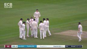 Kemar Roach Wicket c Joe Root b Stuart Broad