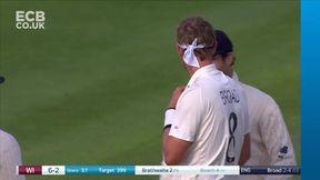 Kemar Roach Wicket c Jos Buttler b Stuart Broad