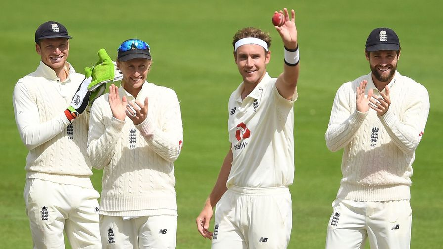 The numbers behind Stuart Broad's 500 Test Wickets