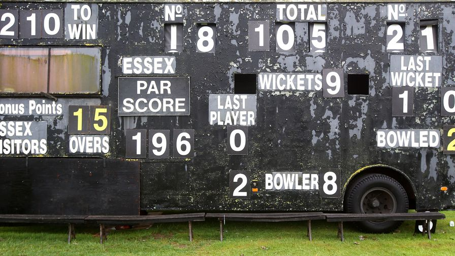 How does the Bob Willis Trophy point system work?