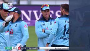 Andrew Balbirnie Wicket c Jonny Bairstow b James Vince