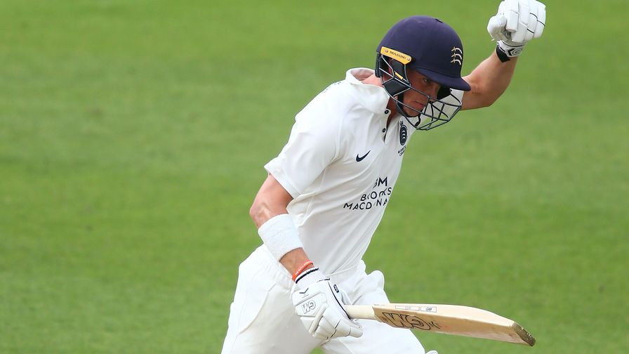 Kuhn and Gubbins hit centuries on Bob Willis Trophy opening day