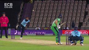 Andrew Balbirnie Wicket c Sam Billings b Adil Rashid