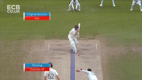 Rory Burns Wicket lbw Mohammad Abbas