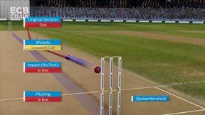 Shan Masood Wicket lbw Stuart Broad
