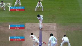 Abid Ali Wicket lbw James Anderson