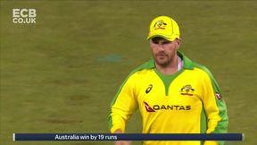 Sam Billings Wicket c David Warner b Mitchell Marsh - Australia win by 19 runs