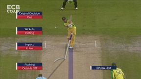 Mitchell Marsh Wicket LBW b Mark Wood