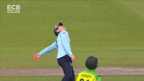 Marcus Stoinis Wicket c Eoin Morgan b Chris Woakes