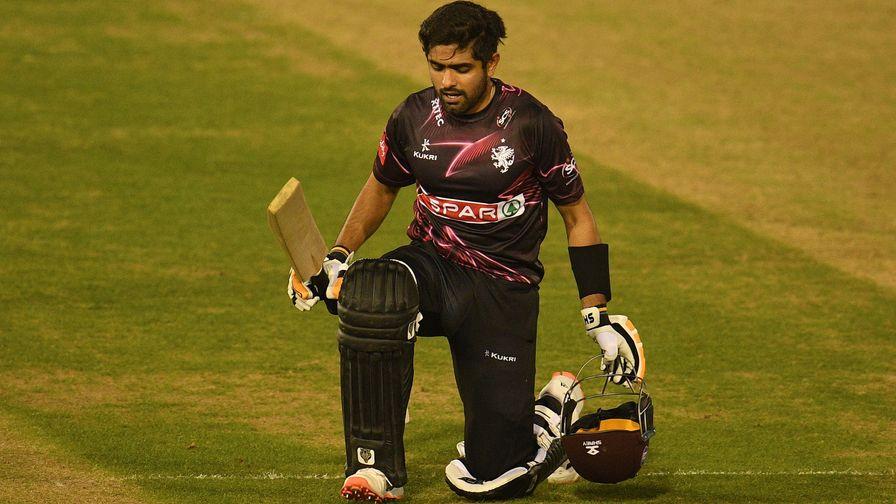 Vitality Blast | Babar hits hundred and Surrey qualify