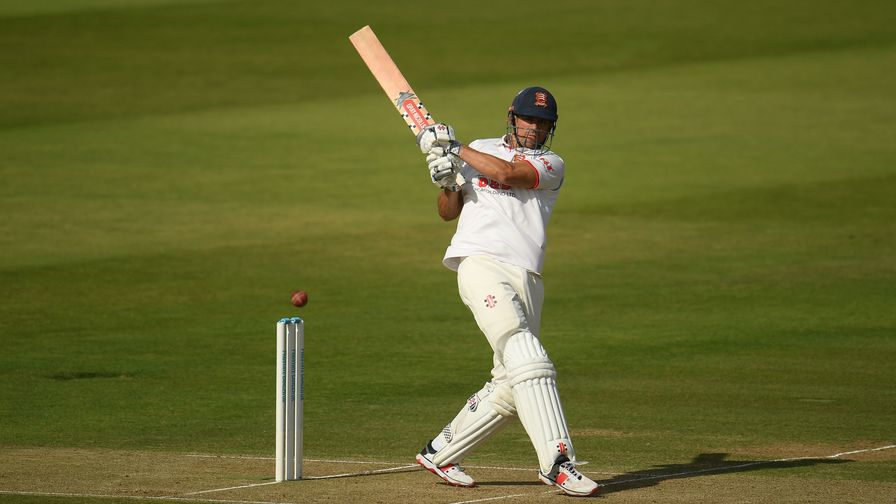 Bob Willis Trophy final: Alastair Cook hits big hundred to put match in the balance