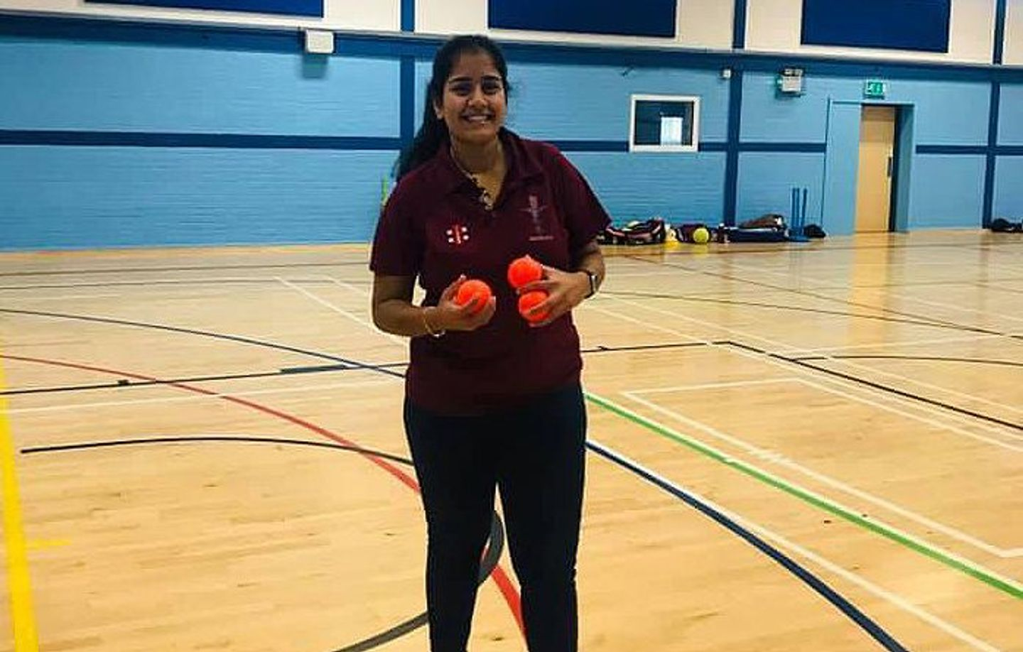 Shivanie Patel has dedicated her time to providing playing opportunities for women and girls in Bradford