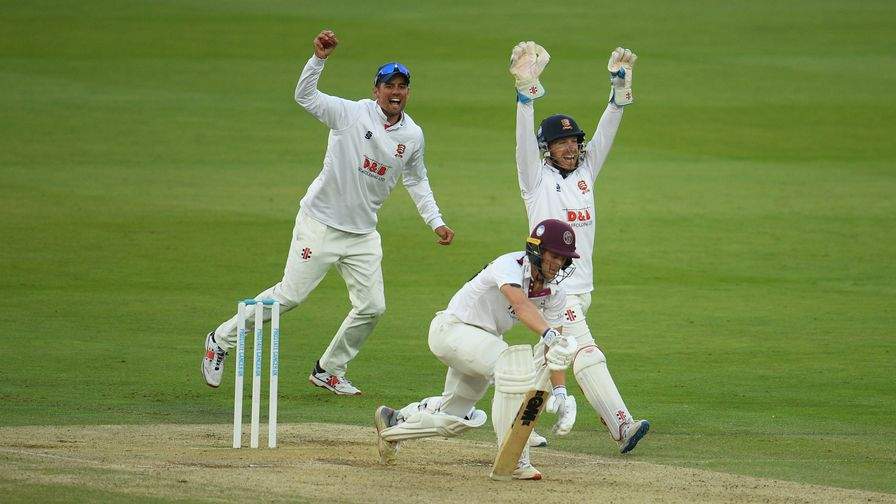 Bob Willis Trophy final: Essex in control despite Tom Lammonby century