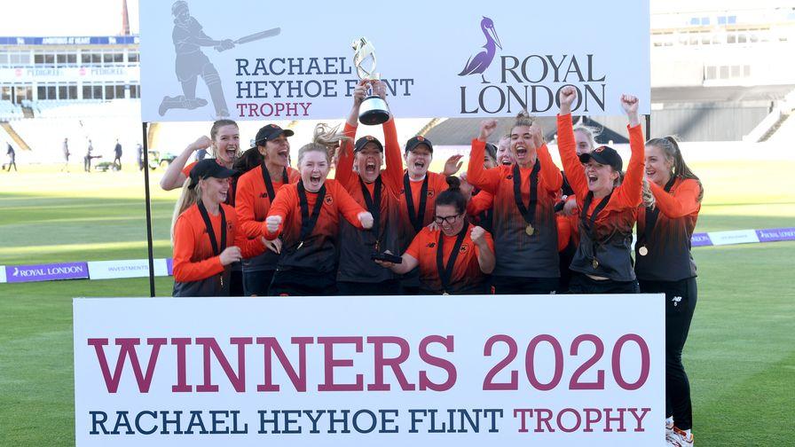 Southern Vipers win Rachael Heyhoe Flint title