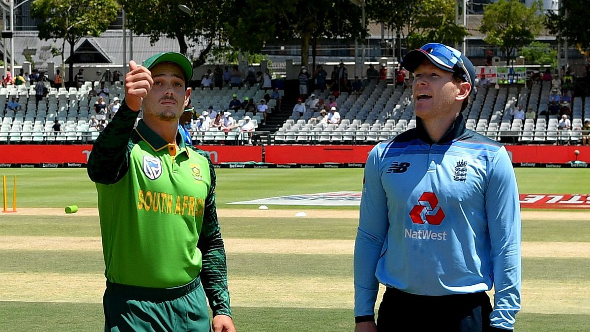 The Three Lions will play three ODIs and three IT20s against South Africa