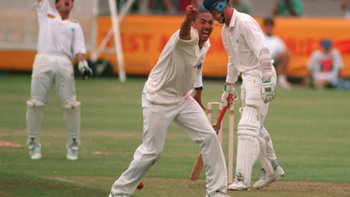 Phil DeFreitas was a mainstay of the England team for 11 years