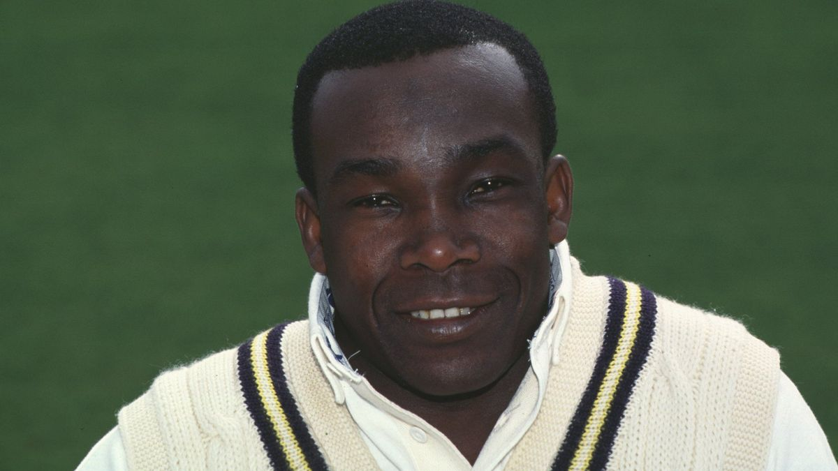 Gladstone Small was player of the match in the fourth Ashes Test in Melbourne in 1986/87