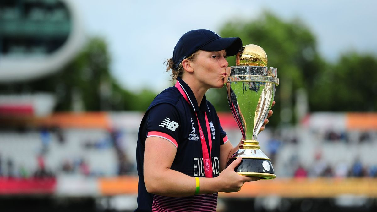 Knight led England to the 2017 Women's Cricket World Cup title
