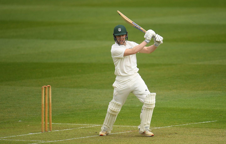 Jack Haynes batting for Worcestershire