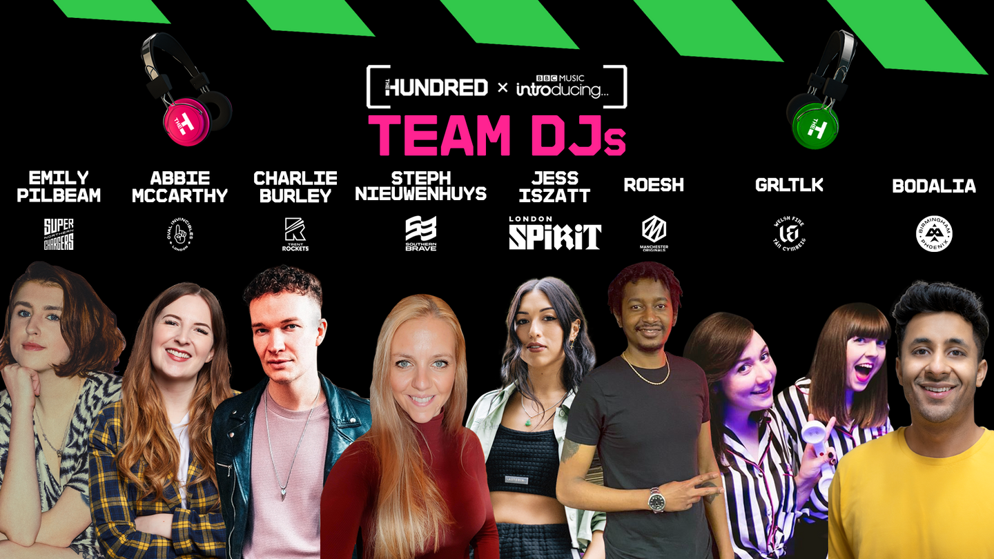 A look at the eight team DJs