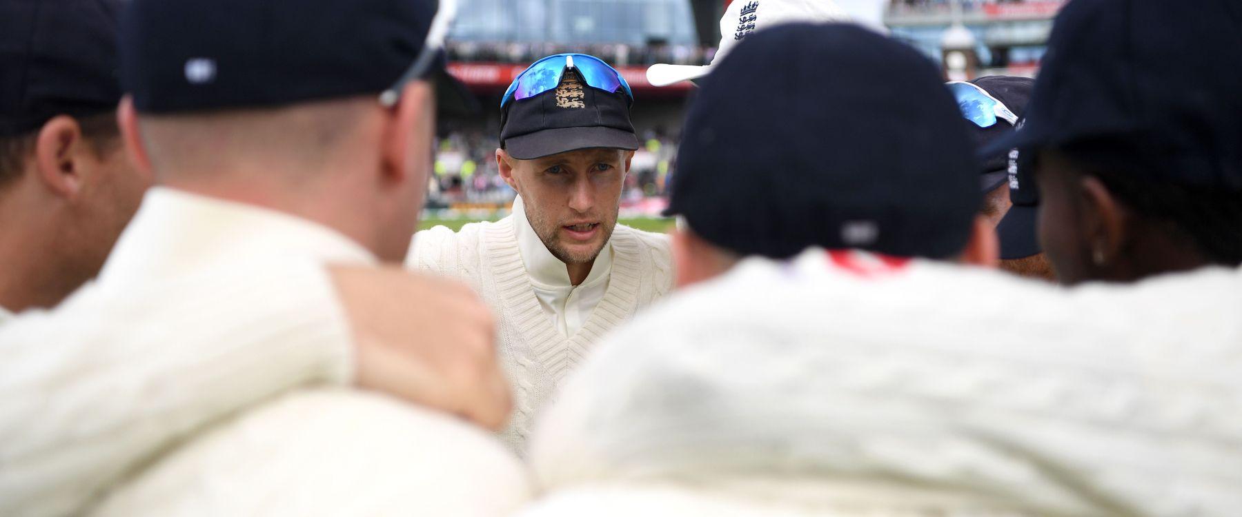 England Men's Test captain Joe Root