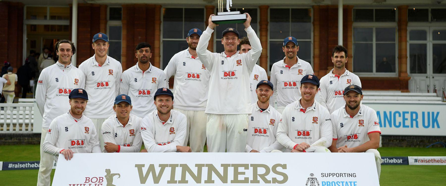 Essex won the Bob Willis Trophy in 2020