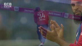 Perera wicket - c Jordan b Rashid