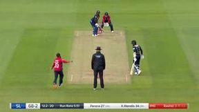 Perera wicket - c Morgan b Rashid