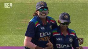 Knight wicket - c Goswami b Yadav