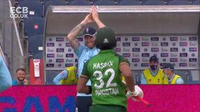Hasan Ali wicket - c Malan b Parkinson