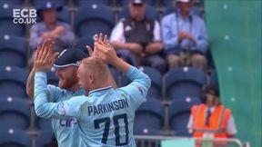 Zaman wicket - c Crawley b Parkinson