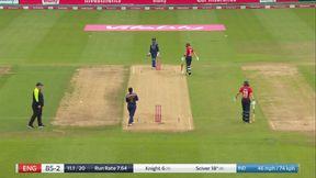 Knight wicket - Run Out Gosch