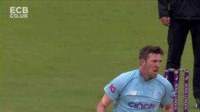 Fakhar wicket - b Overton