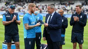 Ben Stokes receives his 100th ODI cap