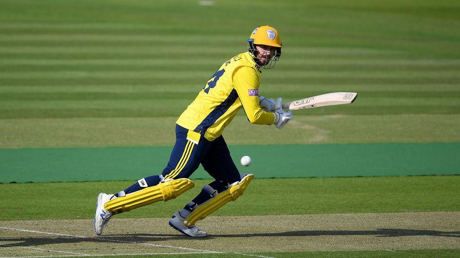 James Vince hits century while Somerset progress