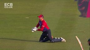 Babar out - Ct Bairstow B Willey