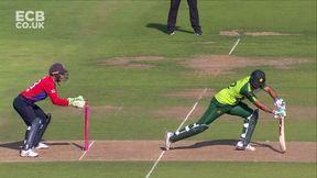 Maqsood wicket - st Buttler b Rashid