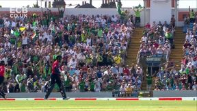 Jordan wicket c Shadab Khan b Haris Rauf