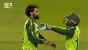Dawid Malan wicket b Mohammad Hafeez