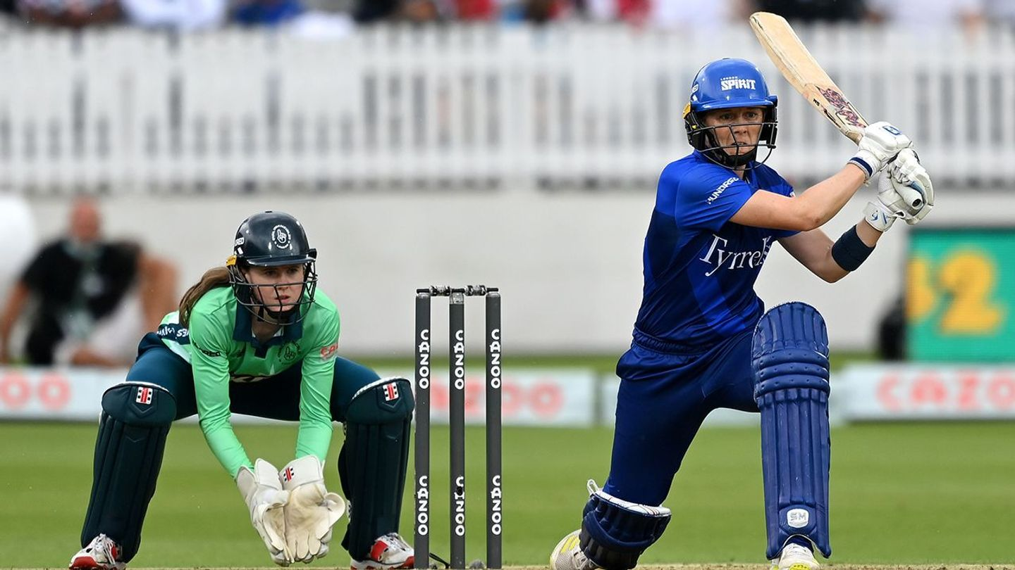 Spirit captain Heather Knight knows a win is essential for her team
